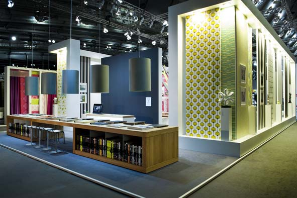 Fabric Exhibition Stand Design : History a s création tapeten ag